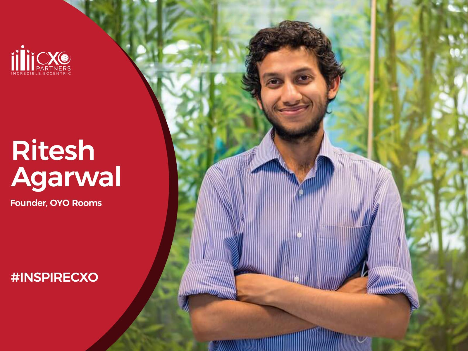 Founder of OYO - Ritesh Agarwal