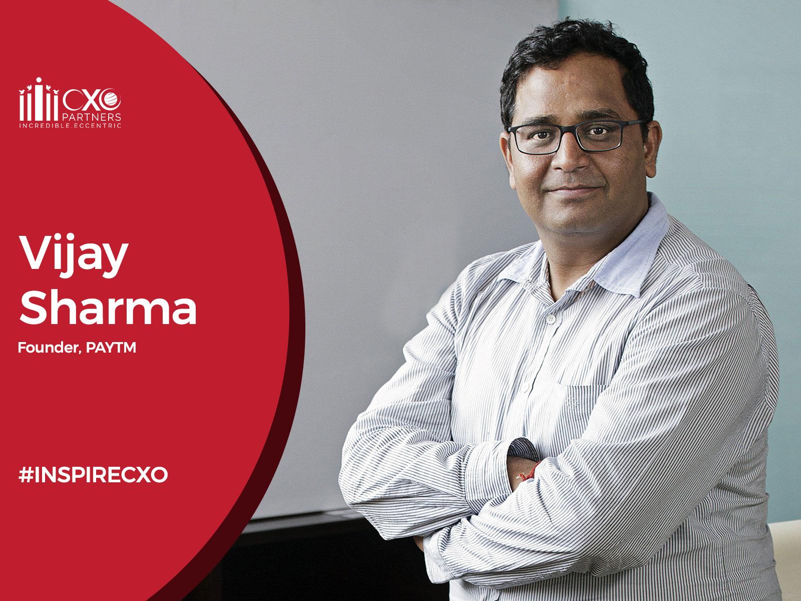 Paytm - Vijay Sharma - INSPIRECXO