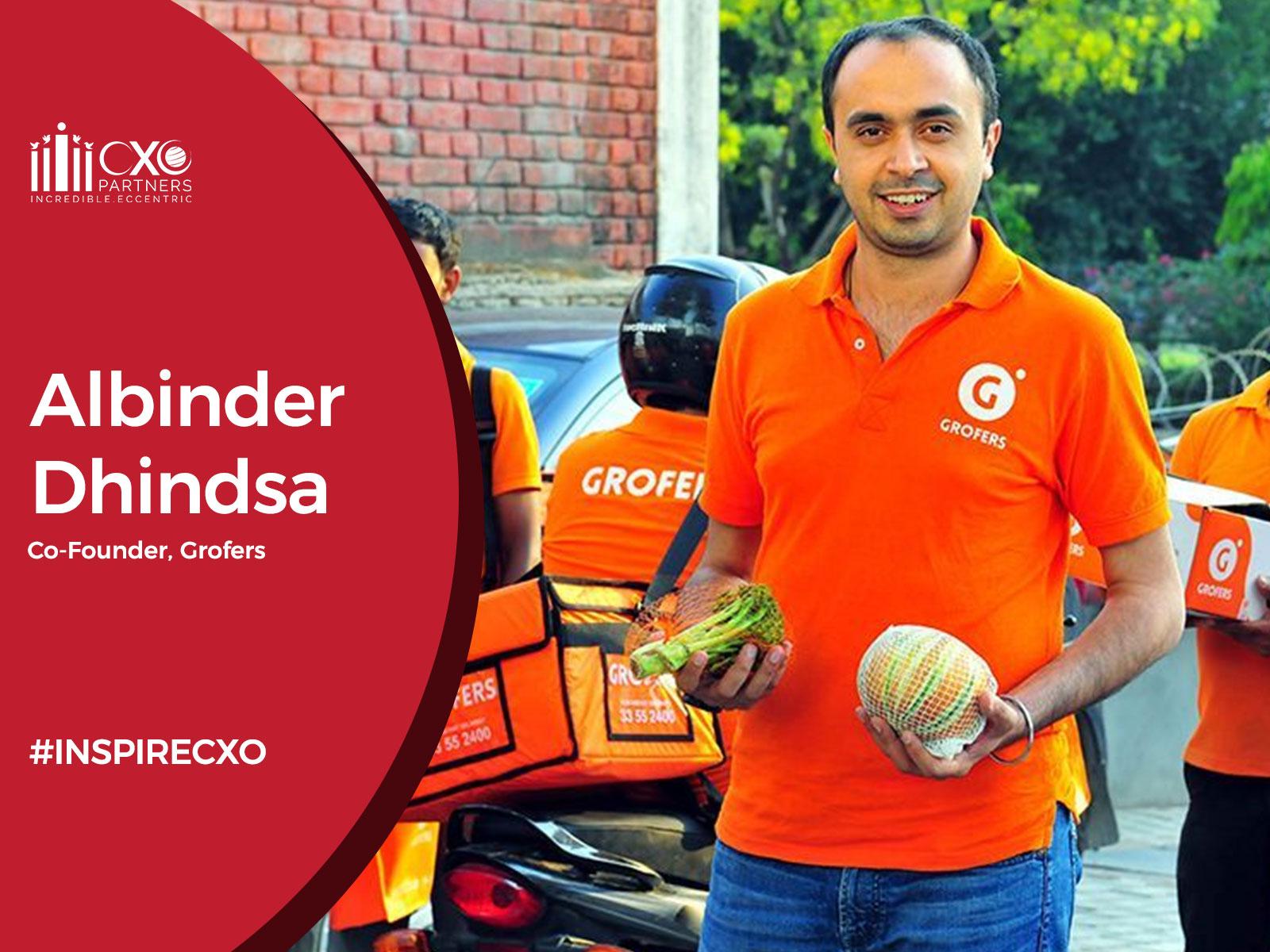 INSPIRECXO Albinder Dhindsa Grofers